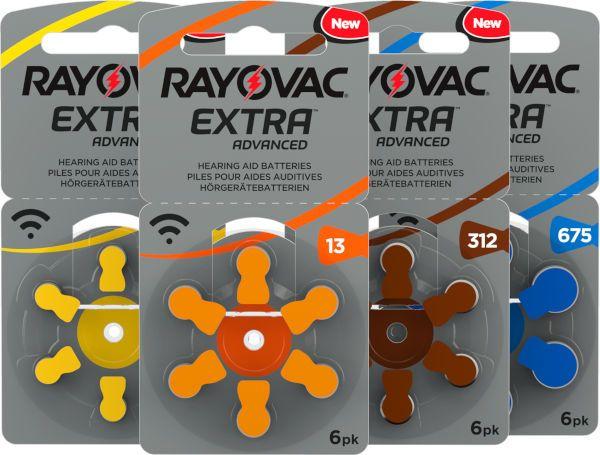 Батарейки Rayovac для слуховых аппаратов